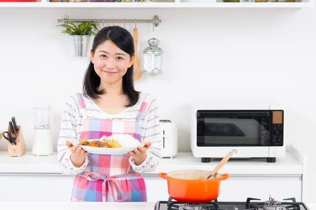 夕飯のカレー