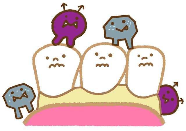 虫歯のバイキン
