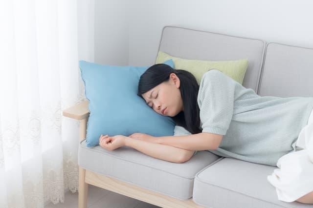 主婦の昼寝