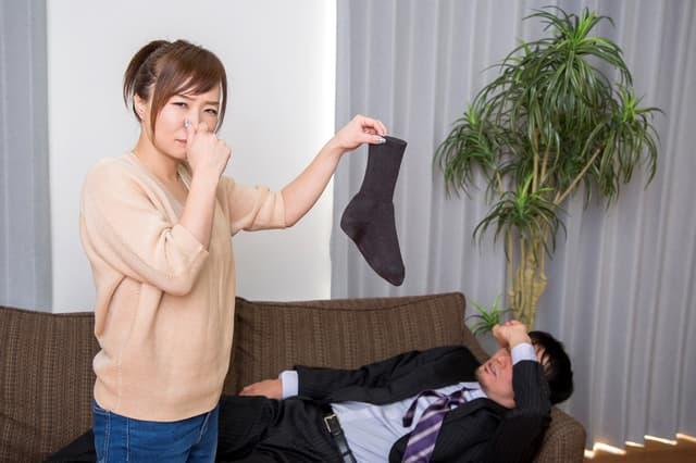 夫のスメルハラスメント