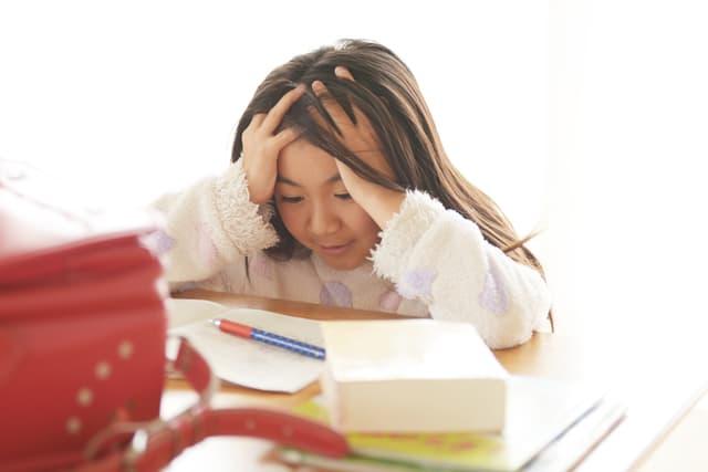 小学生のストレス
