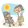 赤ちゃんは夏バテしやすい。夏バテの予防対策