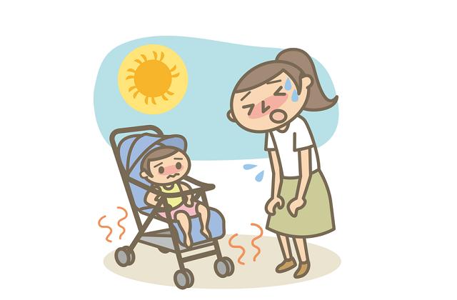 赤ちゃんの夏バテ