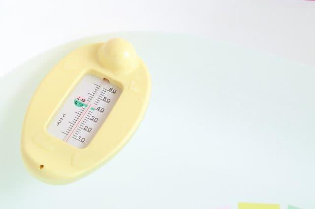 湯船の温度計