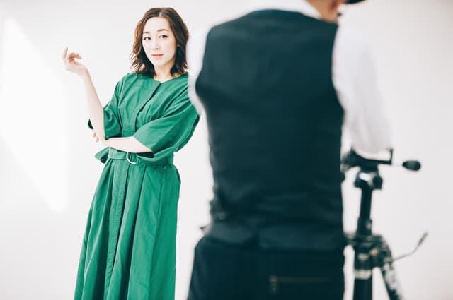 モデルの撮影