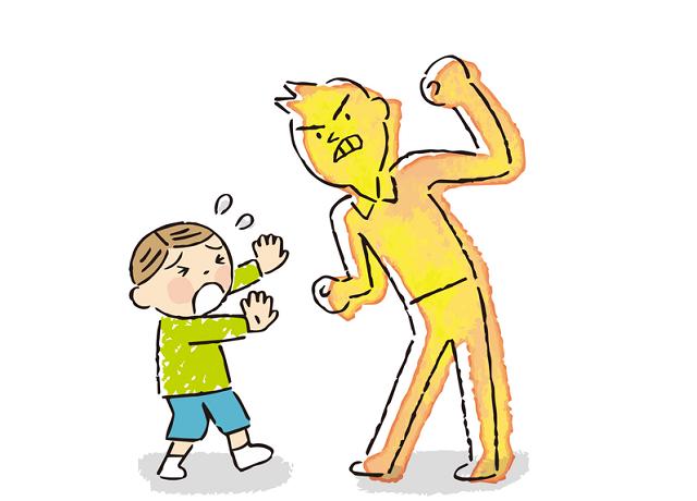 親からの虐待