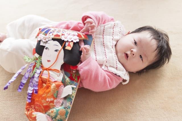 赤ちゃんの初正月