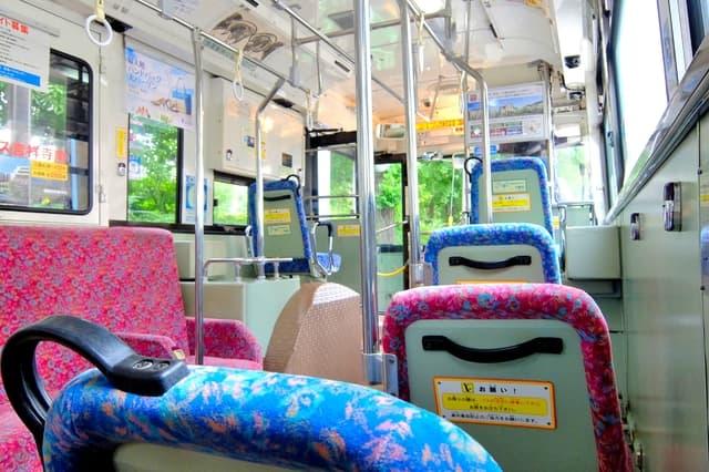 子連れのバス移動