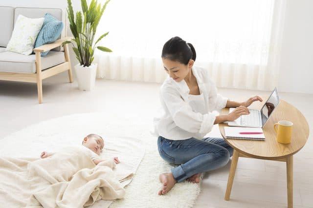 産後の仕事継続