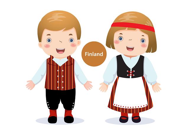 フィンランドの子どもたち