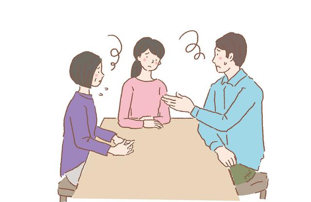 家族の話し合い