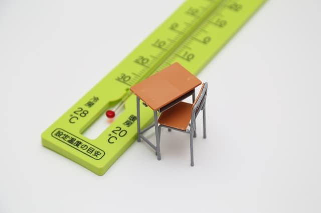 教室の温度