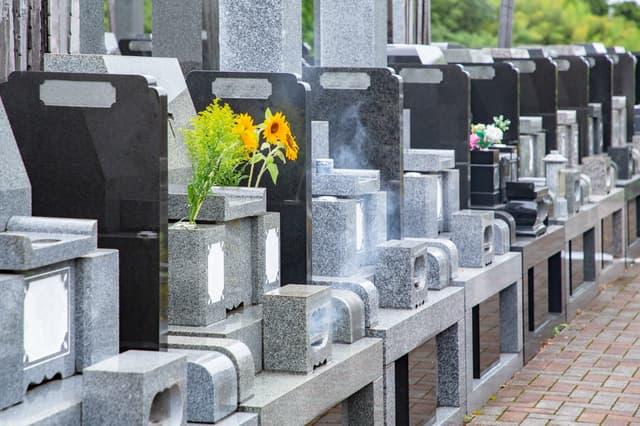 お墓の風景