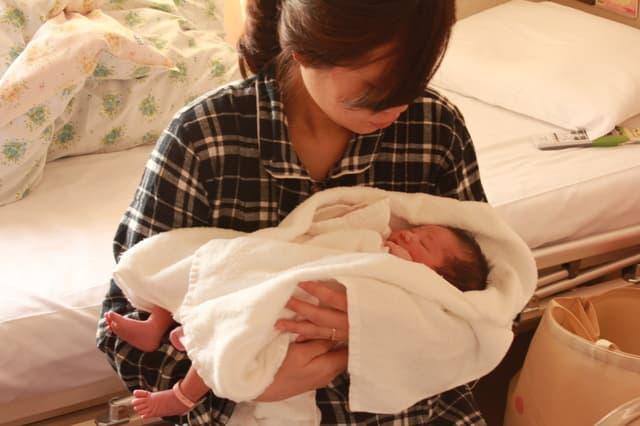 出産後のママ
