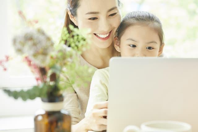 家族でパソコン勉強