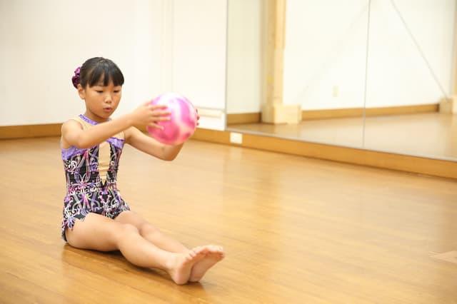 子供の新体操