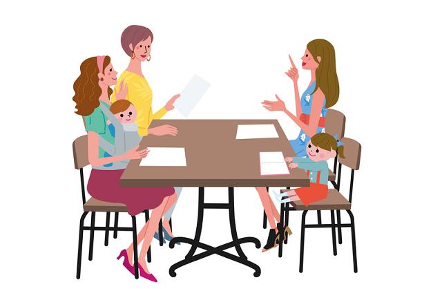 ママたちの会議