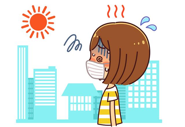 マスクで熱中症