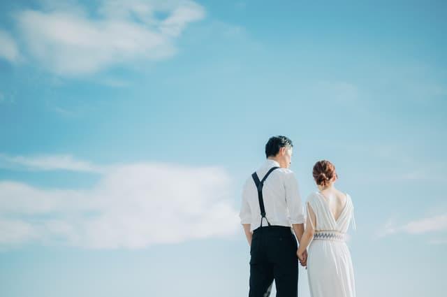 授かり婚のカップル