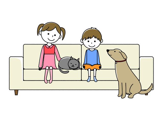 子どもとペットを飼う
