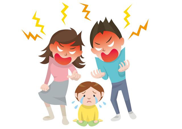 虐待の加害者は親が多い