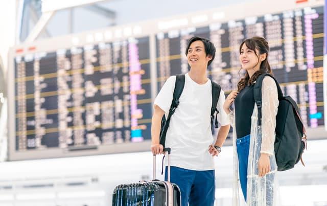 夫婦で海外旅行