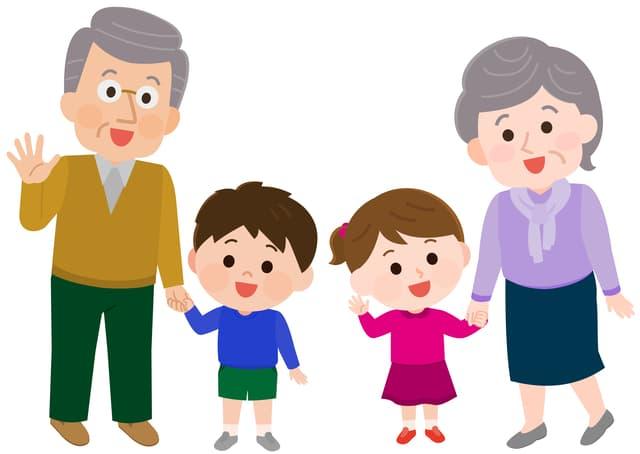 祖父母の呼び方