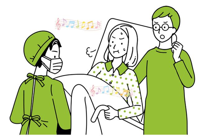 出産の音楽