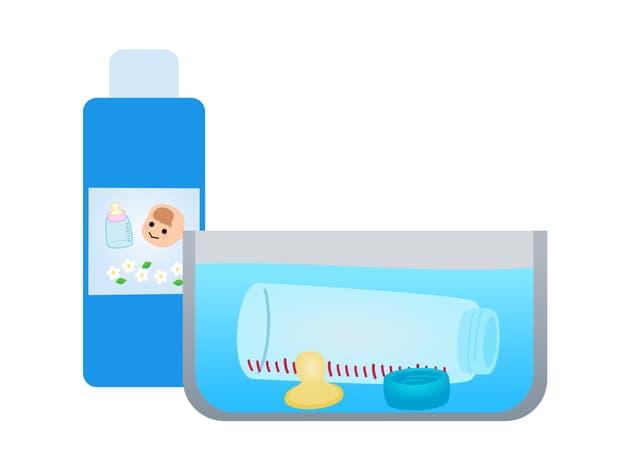 哺乳瓶の消毒期間