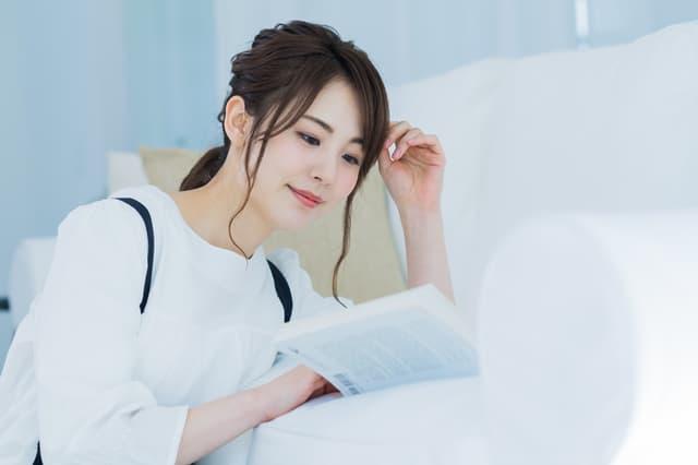 育児書を読む