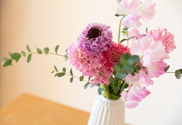 花瓶に飾る