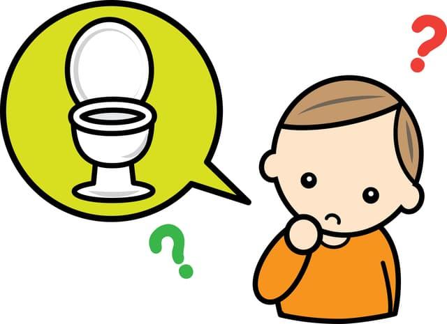 トイレの疑問