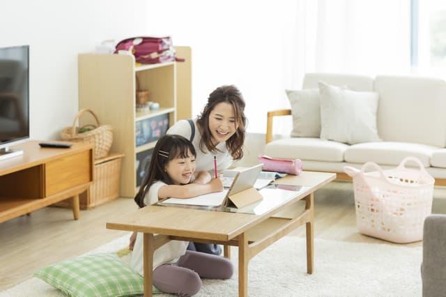 家で勉強する
